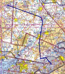 Route to Shobdon