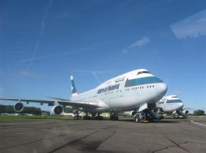 747s stored at Kemble