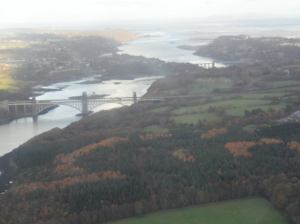 Bridges across the Menai Straits