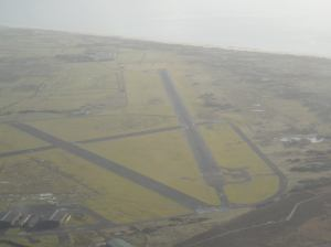 The airfield at Llanbedr