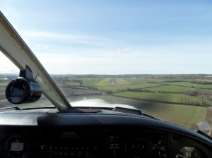 Final Approach for West Wales Aberporth