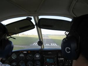 Short Final at Kemble