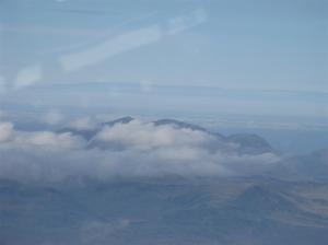 Clouds over Snowdonia