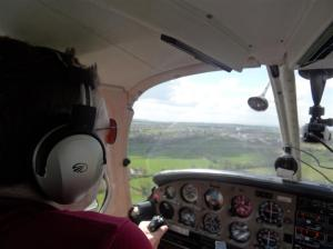 Short Final at Dunkeswell